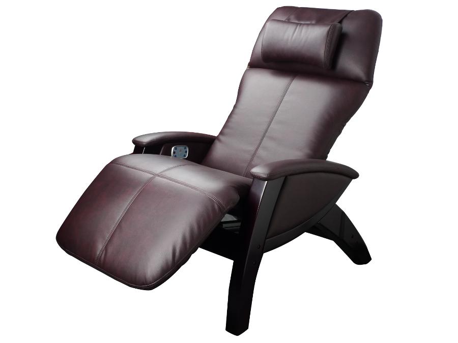 Zero gravity recliner with massage in burgundy - Zero gravity recliner chair for living room ...