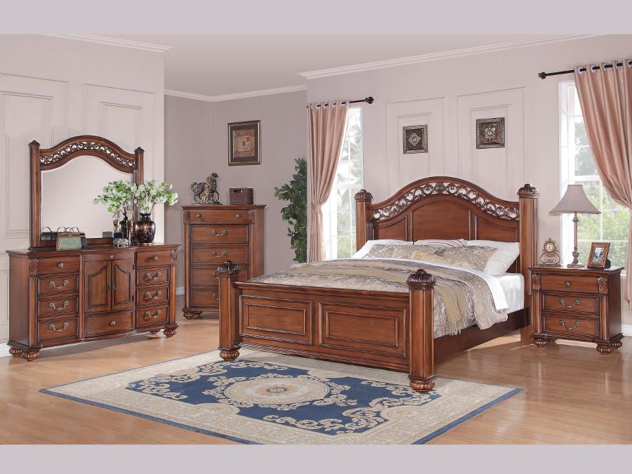 Barkley Square Queen Pc Set - Rana furniture bedroom sets