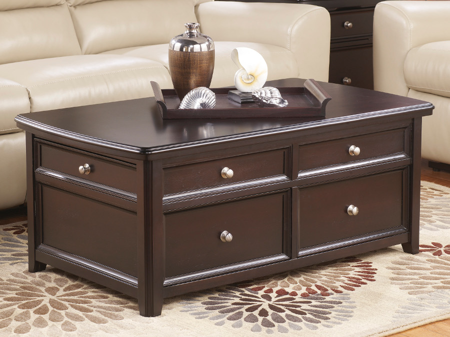 Carlyle Rectangular Lift Top Coffee Table