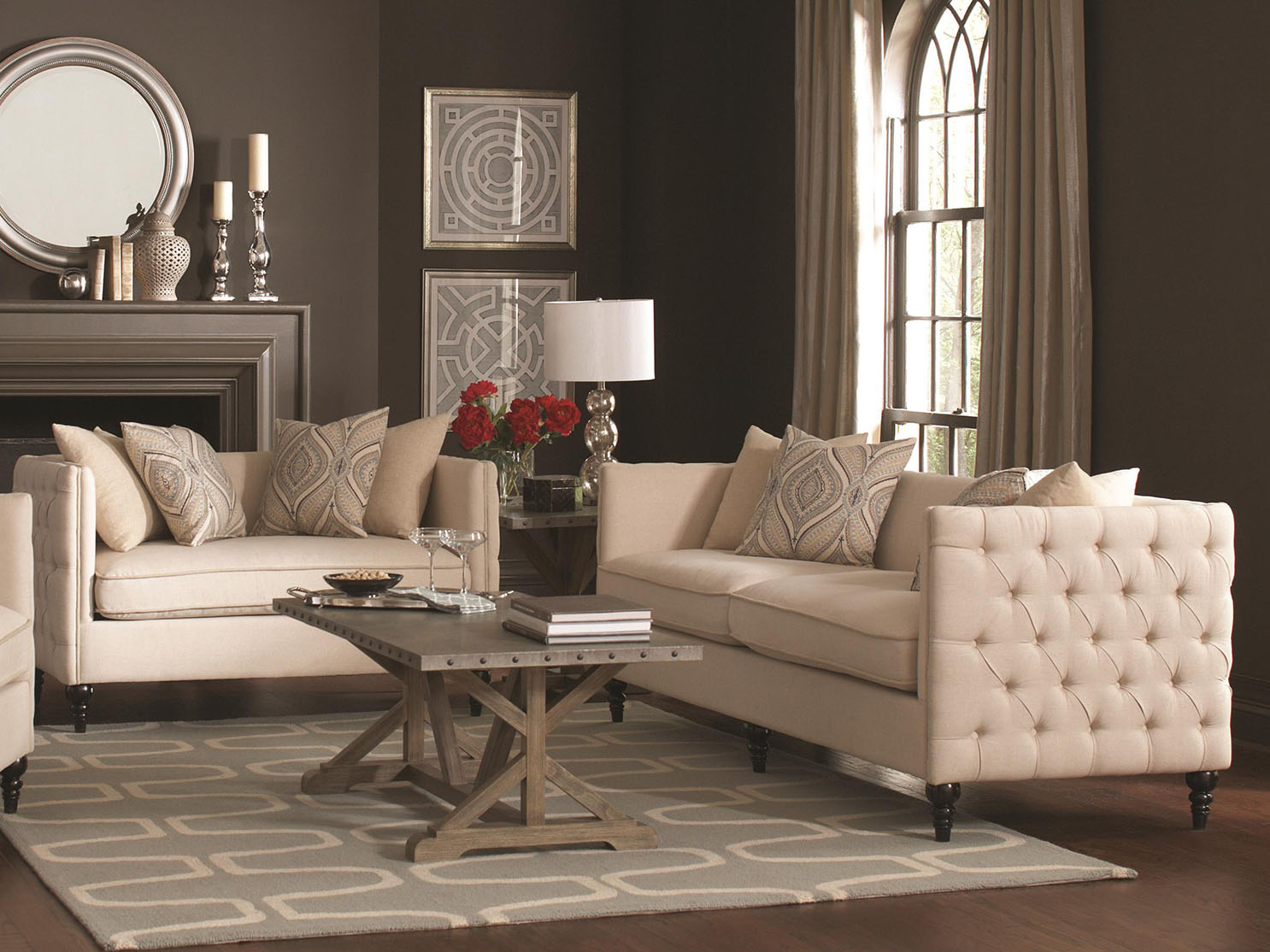 Rana Furniture Living Room Chairs