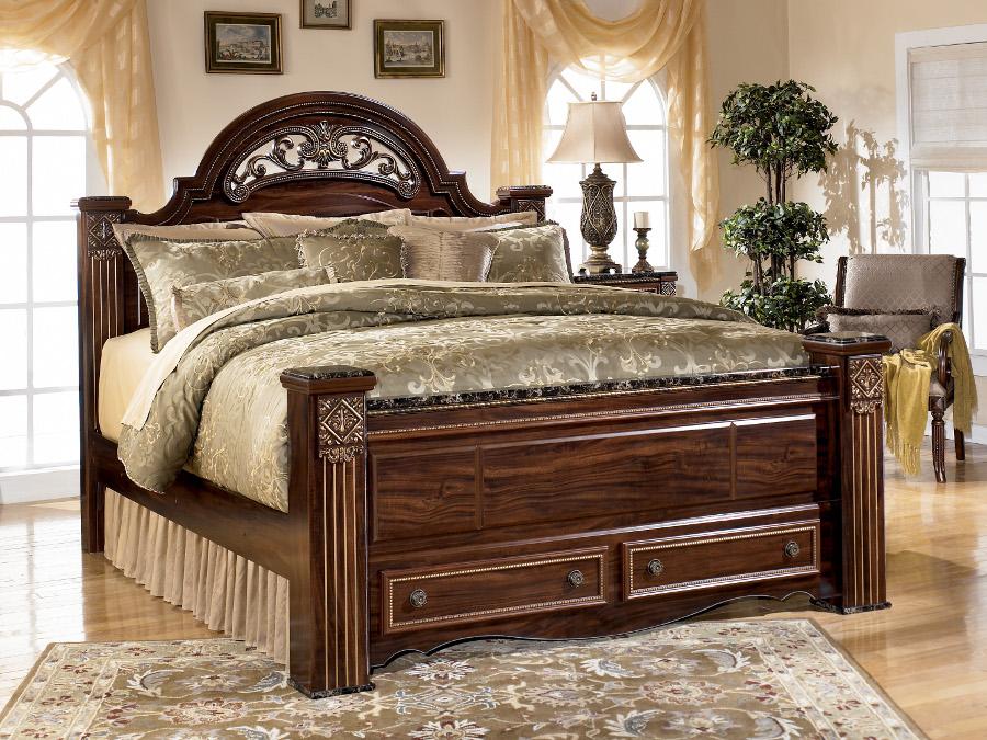 Gabriela Queen Pc Set - Rana furniture bedroom sets