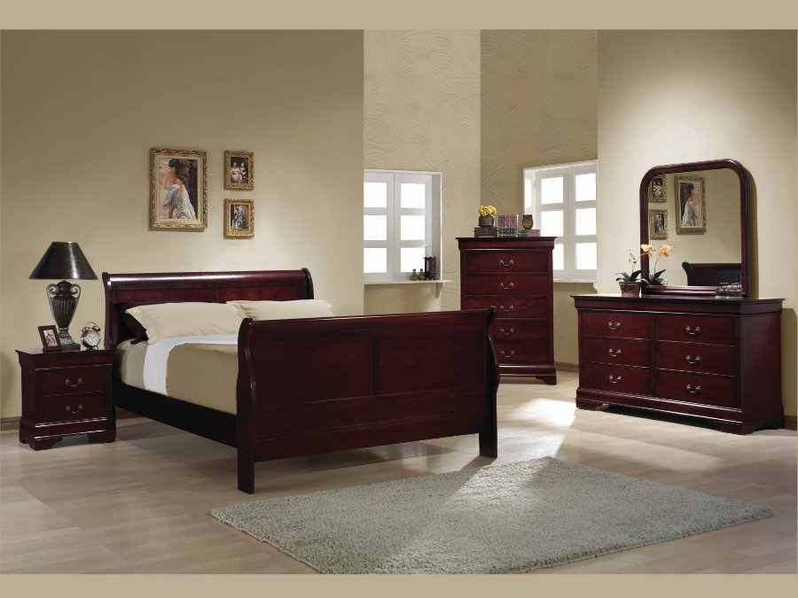 Louis Philippe Cherry Queen 4 Pcs Set