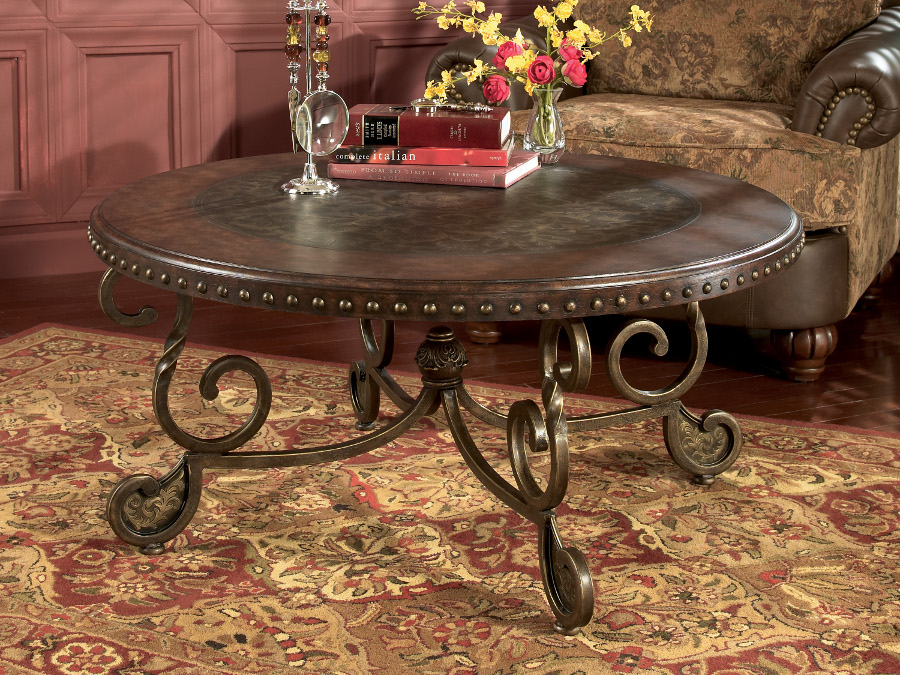 Rafferty Old World End Table
