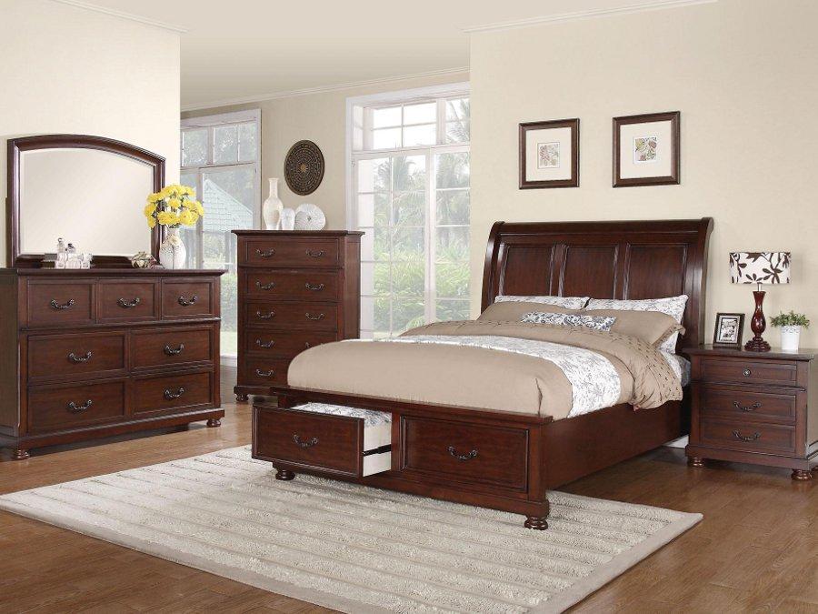 Rana Furniture King Bed